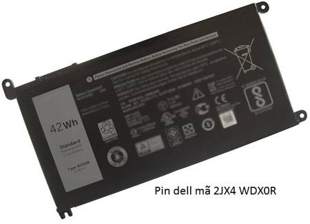 pin laptop dell 15 7560 7570 5578 5468